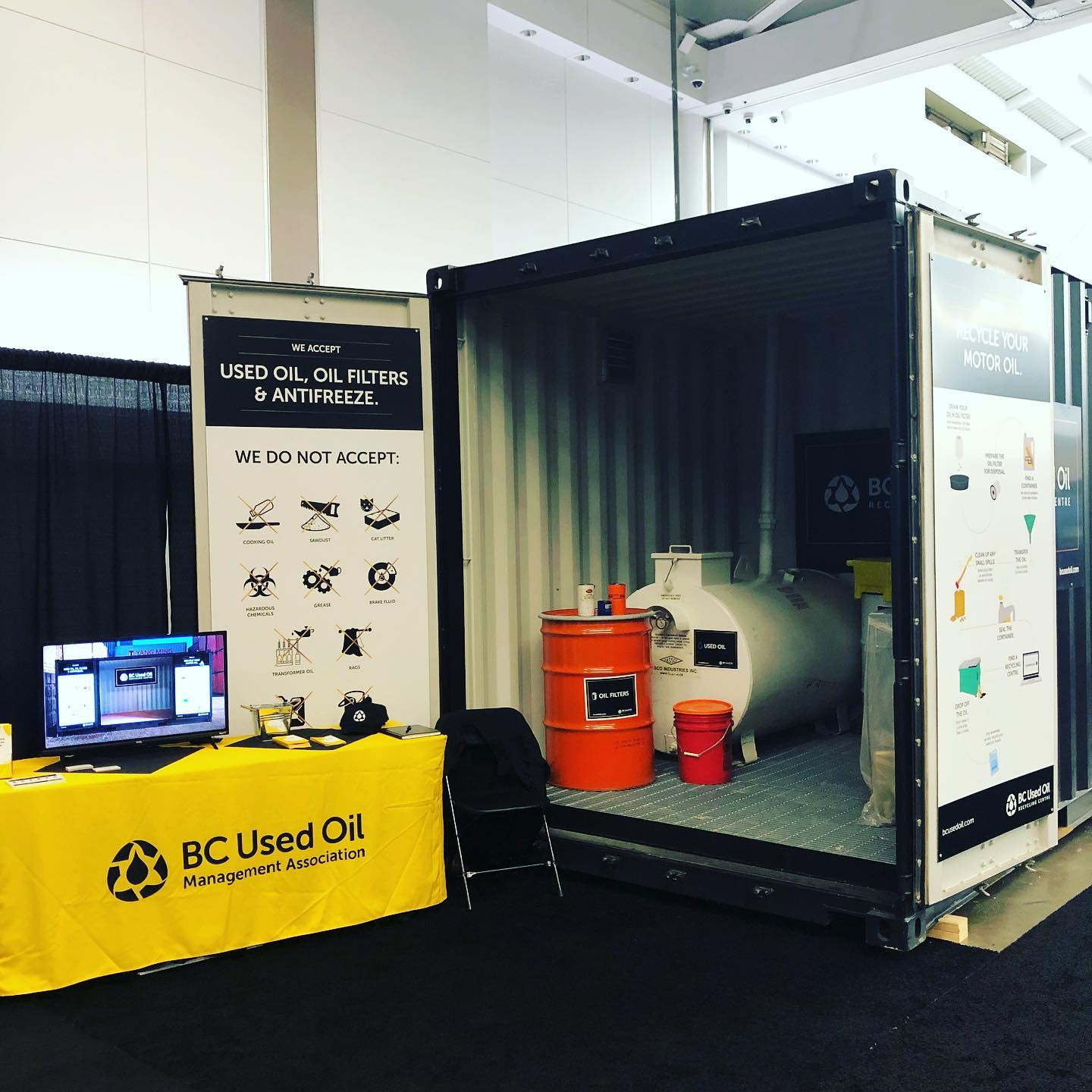 BCUOMA Sea Container Display
